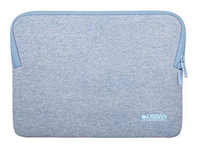 """Urban factory memory - housse d'ordinateur portable - 10"""" - 12"""" - bleu"""