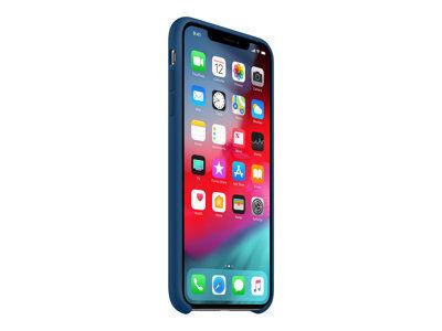 Apple - coque de protection pour téléphone portable - silicone - bleu horizon...