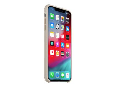 Apple - coque de protection pour téléphone portable - silicone - pierre - pou...