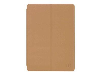 Mobilis origine - protection à rabat pour tablette - imitation cuir - brun cl...