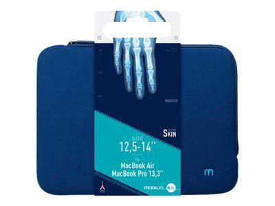 "Mobilis skin - housse d'ordinateur portable - 12.5"" - 14"" - bleu marine, bleu..."