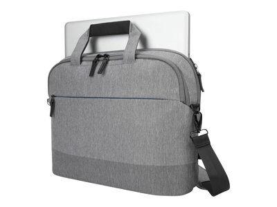"""Targus citylite - sacoche pour ordinateur portable - 12"""" - 15.6"""" - gris"""