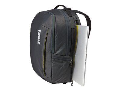 """Case logic Thule subterra - sac à dos pour ordinateur portable - 15.6"""" - ombre foncée"""