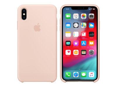 Apple - coque de protection pour téléphone portable - silicone - sable rose -...