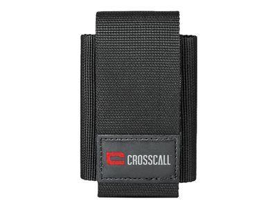 Crosscall - étui protecteur pour téléphone portable - nylon, polyuréthane - noir