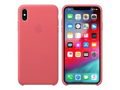 Apple - coque de protection pour téléphone portable - cuir - rose pivoine - p...