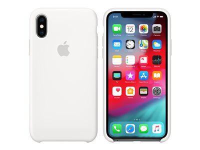 Apple - coque de protection pour téléphone portable - silicone - blanc - pour...