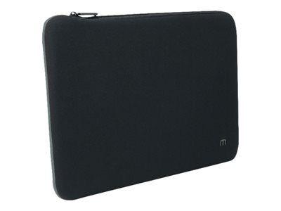 """Mobilis skin - housse d'ordinateur portable - 12.5"""" - 14"""" - gris, noir"""