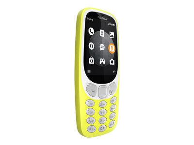 Nokia 3310 3g - téléphone mobile - double sim - 3g - microsdhc slot - gsm - 3...