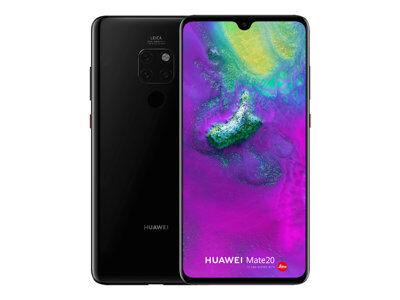 Huawei mate 20 - smartphone - double sim - 4g lte - 128 go - microsdhc slot, ...