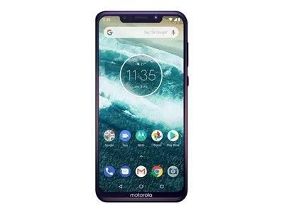 Motorola one - smartphone - double sim - 4g lte - 64 go - microsdxc slot - gs...