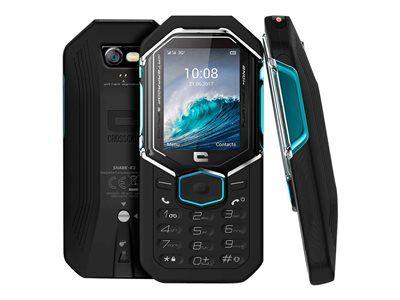 Crosscall shark x3 - téléphone mobile - double sim - 3g - microsd slot - gsm ...