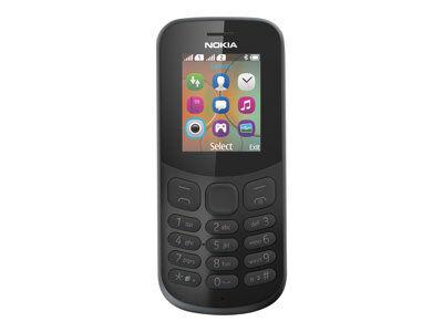 Nokia 130 - téléphone mobile - double sim - microsdhc slot - gsm - 160 x 120 ...