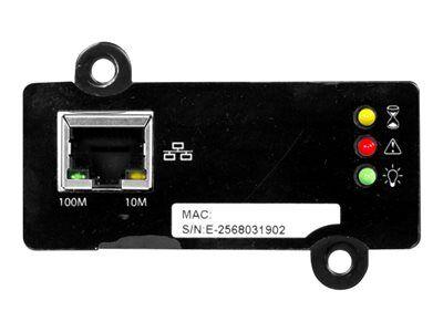 Liebert intellislot snmp/web card - carte de supervision distante - 10/100 et...
