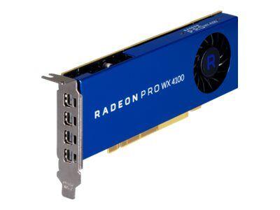 Amd radeon pro wx 4100 - carte graphique - radeon pro wx 4100 - 4 go gddr5 - ...