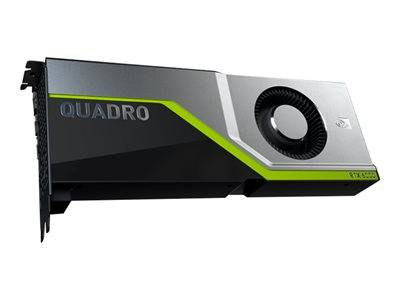 Nvidia quadro rtx 6000 - carte graphique - quadro rtx 6000 - 24 go gddr6 - pc...