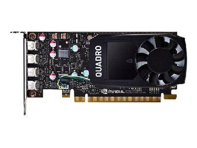Nvidia quadro p600 - customer kit - carte graphique - quadro p600 - 2 go gddr...