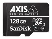 Axis surveillance - carte mémoire flash (adaptateur microsdxc vers sd inclus(...