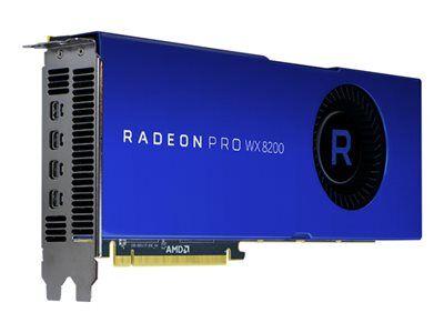 Amd Radeon pro wx 8200 - carte graphique - radeon pro wx 8200 - 8 go hbm2 - pcie ...