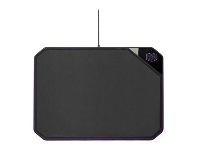 Cooler master masteraccessory mp860 - tapis de souris éclairé - noir