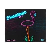 T'nb Tapis souris néon flamingo