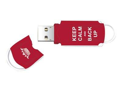 Integral xpression art keep calm and back up - exclusive edition clé usb - 8 ...