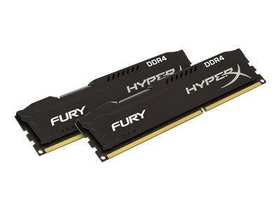 Hyperx fury - ddr4 - 16 go: 2 x 8 go - dimm 288 broches - 2933 mhz / pc4-2340...