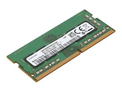 Lenovo - ddr4 - 8 go - so dimm 260 broches - 2400 mhz / pc4-19200 - 1.2 v - m...