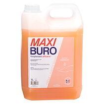 Maxiburo Crème lavante corps et mains - parfum abricot - bidon de 5 l- maxiburo