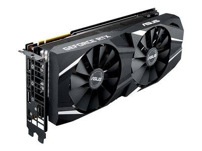 Asus dual-rtx2080-a8g - advanced edition - carte graphique - gf rtx 2080 - 8 ...