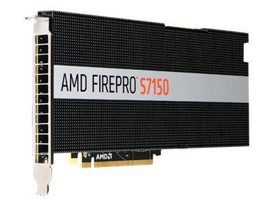 Amd firepro s7150 - carte graphique - firepro s7150 - 8 go gddr5 - pcie 3.0 x16