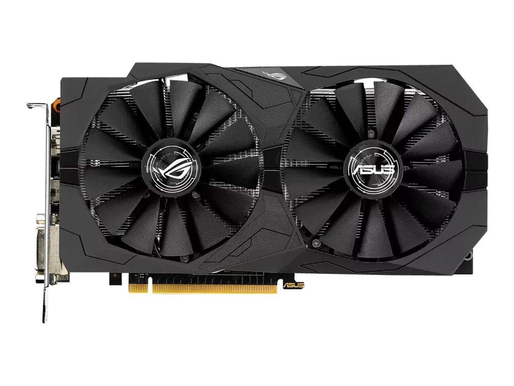 Asus rog strix-gtx1050ti-4g-gaming - carte graphique - gf gtx 1050 ti - 4 go ...