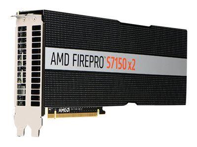 Amd firepro s7150 x2 - carte graphique - 2 gpus - firepro s7150 - 16 go gddr5...
