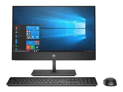 Hp proone 600 g4 - tout-en-un - 1 x core i3 8100 / 3.6 ghz - ram 4 go - hdd 1...
