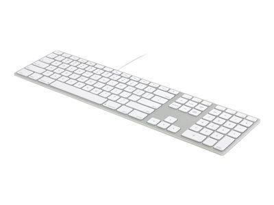 Matias wired aluminum - clavier - usb - français - argent