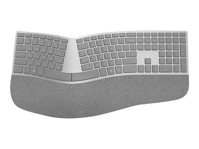 Microsoft surface ergonomic keyboard - clavier - sans fil - bluetooth 4.0 - f...