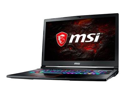 Msi ge73 8re 032xfr raider rgb - core i7 8750h - freedos - 8 go ram - 256 go ...