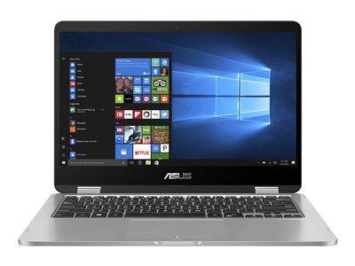Asus vivobook flip 14 tp412ua ec141t - conception inclinable - core i3 7020u ...