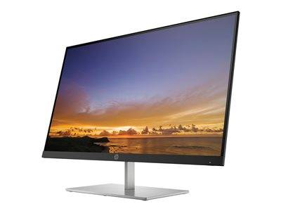 "Hp pavilion 27 - qled monitor - 27"" (27"" visualisable) - 2560 x 1440 wqhd - p..."