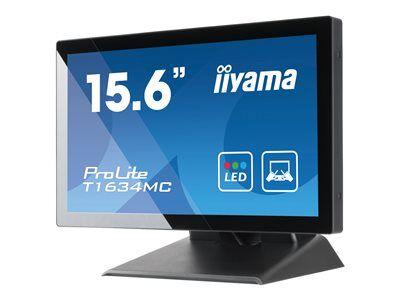 """Iiyama prolite t1634mc-b5x - écran led - 15.6"""" - écran tactile - 1366 x 768 -..."""