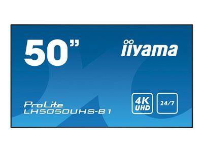 """Iiyama prolite lh5050uhs-b1 - classe 50"""" écran del - signalisation numérique ..."""