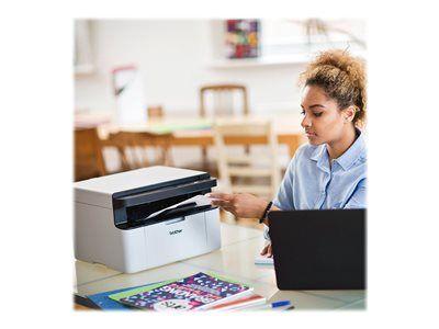 Brother dcp-1610wvb - imprimante multifonctions - noir et blanc - laser - 215...