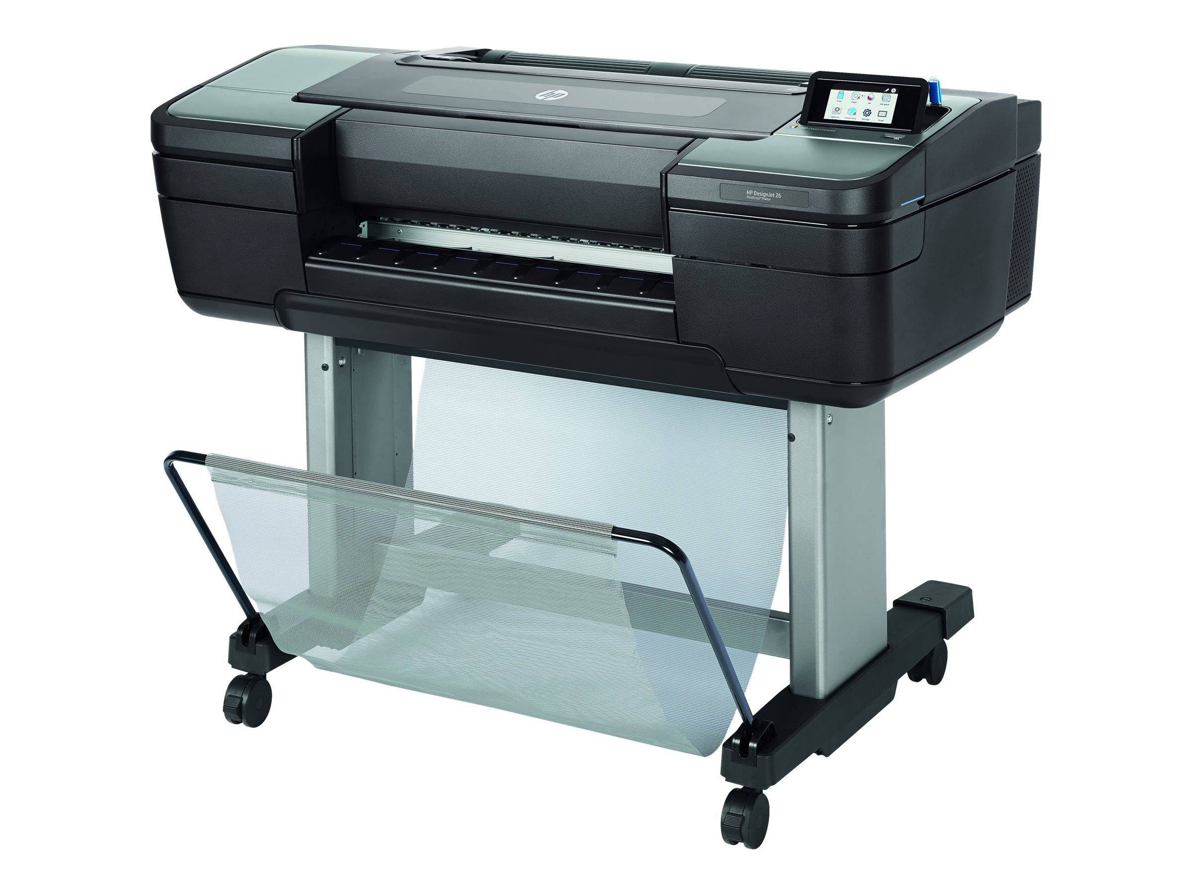 "Hp designjet z6dr postscript with v-trimmer - 44"" imprimante grand format - c..."