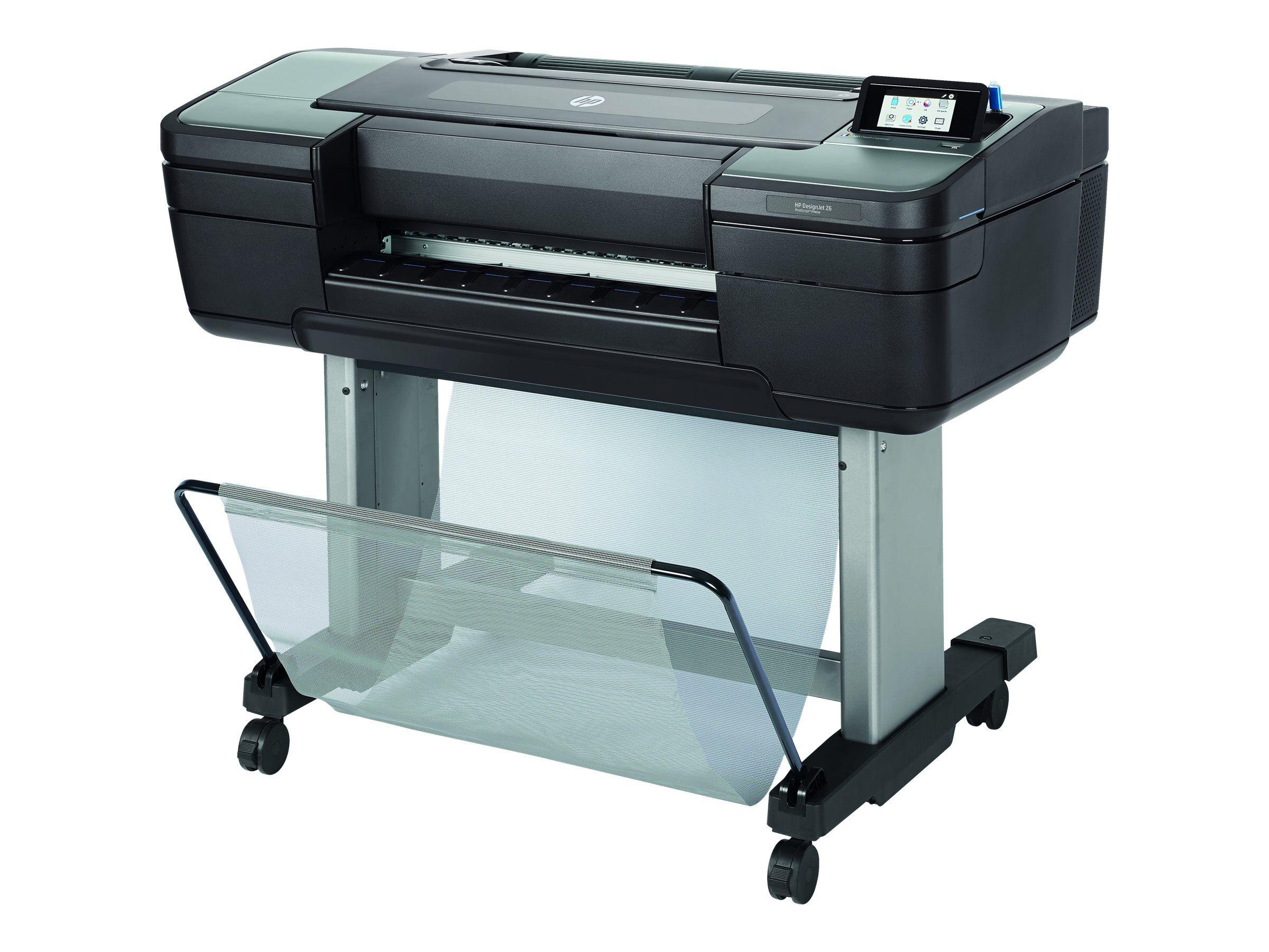 """Hp designjet z6dr postscript with v-trimmer - 44"""" imprimante grand format - c..."""