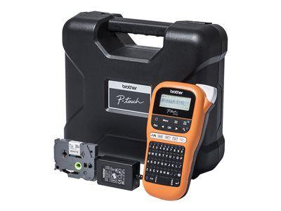 Brother p-touch pt-e110vp - étiqueteuse - monochrome - transfert thermique - ...