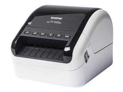 Brother ql-1110nwb - imprimante d'étiquettes - papier thermique - rouleau (10...