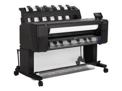 """Hp inc. Hp designjet t1530 postscript - 36"""" imprimante grand format - couleur - jet d..."""