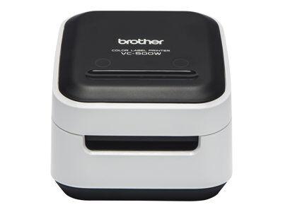 Brother vc-500w - imprimante d'étiquettes - couleur - papier thermique - roul...