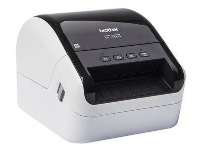 Brother ql-1100 - imprimante d'étiquettes - papier thermique - rouleau (10,36...