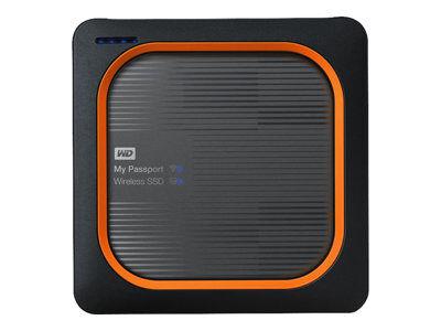 Wd my passport wireless ssd wdbamj0020bgy - stockage mobile sans fil - 2 to -...